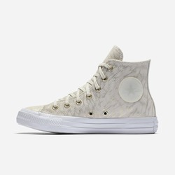 Modello Alto Converse Chuck Taylor All Star Shimmer Suede Donna Beige | 980WTPSE