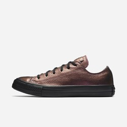 Sneakers Basse Converse Chuck Taylor All Star Iridescent Leather Donna Marroni | 757FOBSG