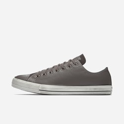Sneakers Basse Converse Chuck Taylor All Star Leather Donna Grigie | 270ENTYL
