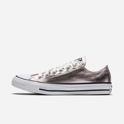 Sneakers Basse Converse Chuck Taylor All Star Metallic Canvas Uomo Rosa Nere Bianche | 554MAKRB